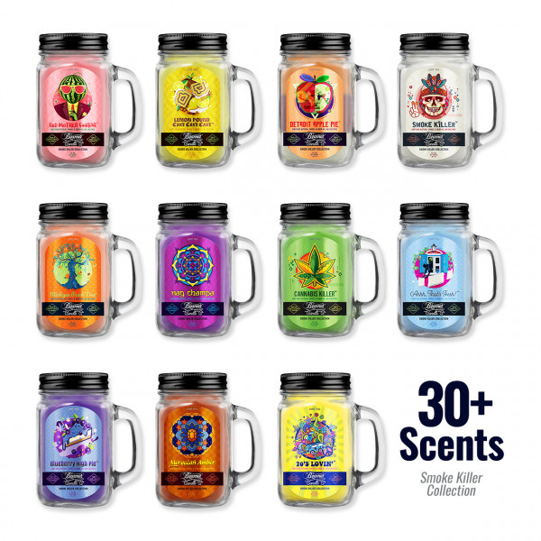 Beamer Candle 12oz - Assorted Flavors