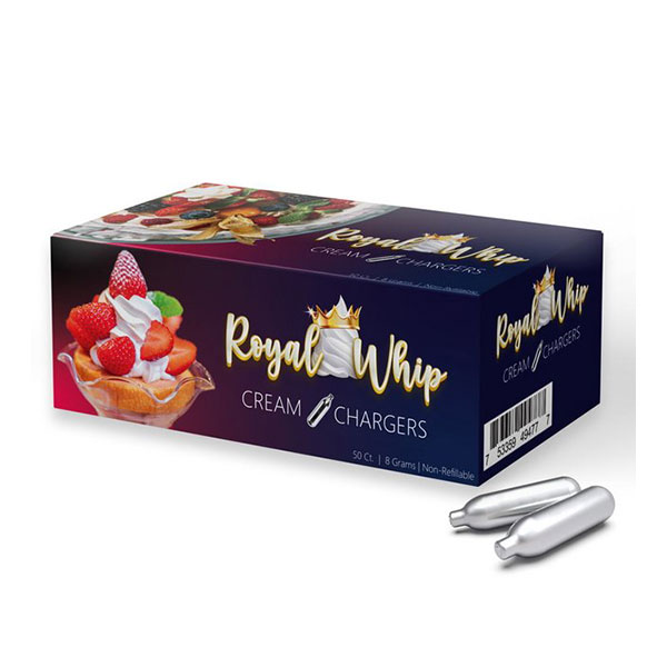 Royal Whip Charger 50ct