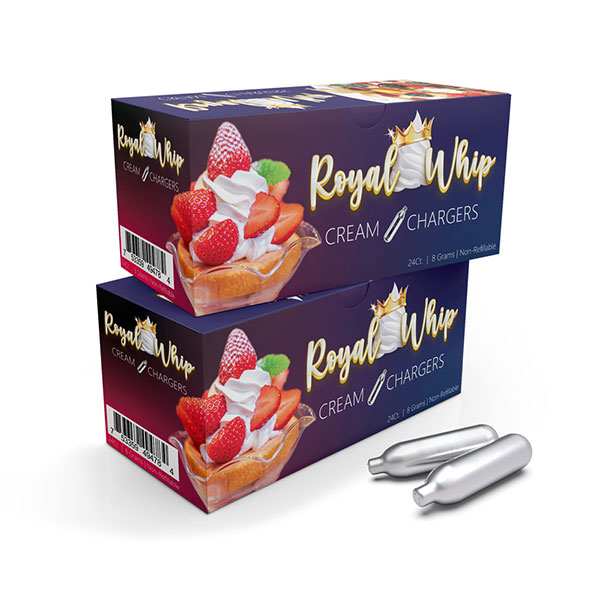 Royal Whip Charger 24ct