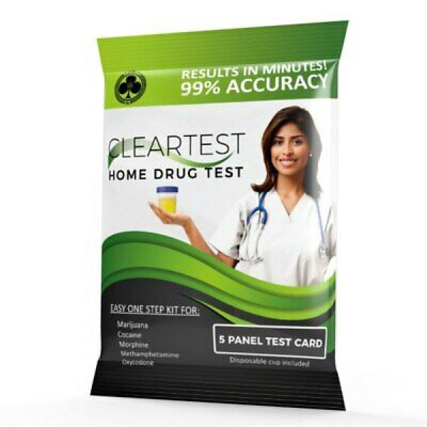Cleartest Home Drug Test - 5 Panel