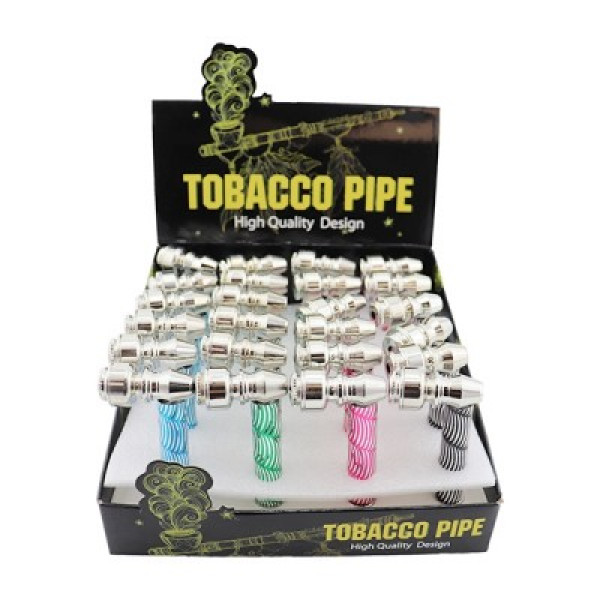 METAL TOBACCO PIPE HQD 24CT