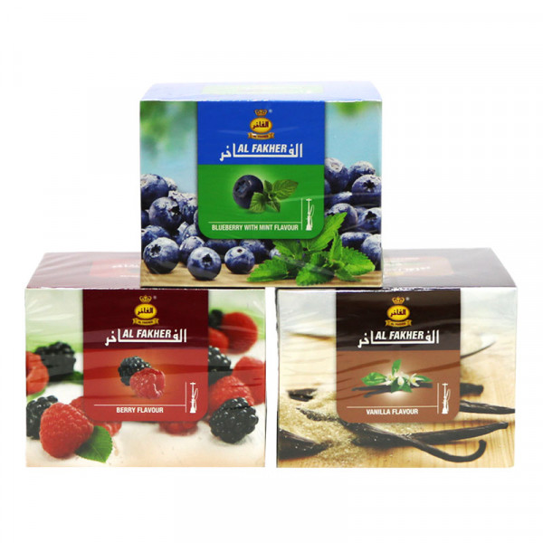 Al Fakher Hookah Tobacco - 250 grams Assorted Flavors