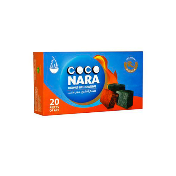 Coco Nara Coconut Shell Charcoal - 20 Pack