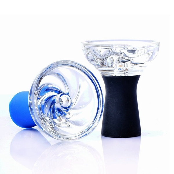 Hookah Bowl - Silicone/Glass