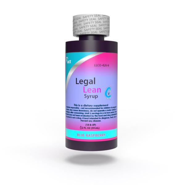 LEGAL LEAN SHOT 2 OZ BLUE RASPBERRY