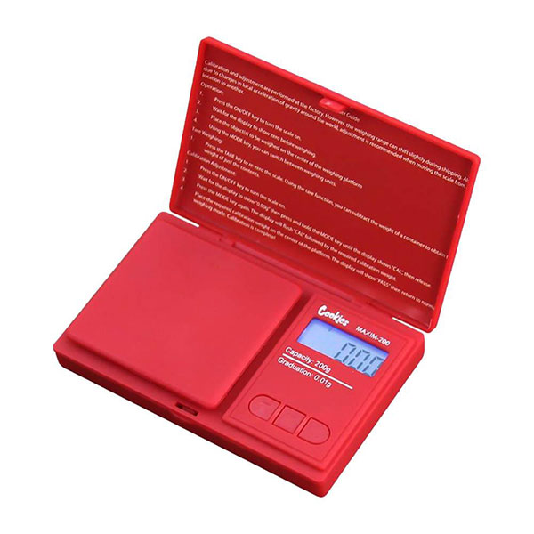 Cookies Pocket Scale by TrUe Maxim - 200g x 0.01g