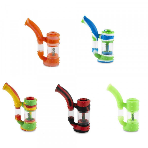 Ooze - Stack Silicone Glass Water Pipe  - Assorted...