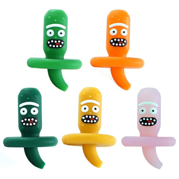 SILICONE CARB CAP PICKLE - Assorted