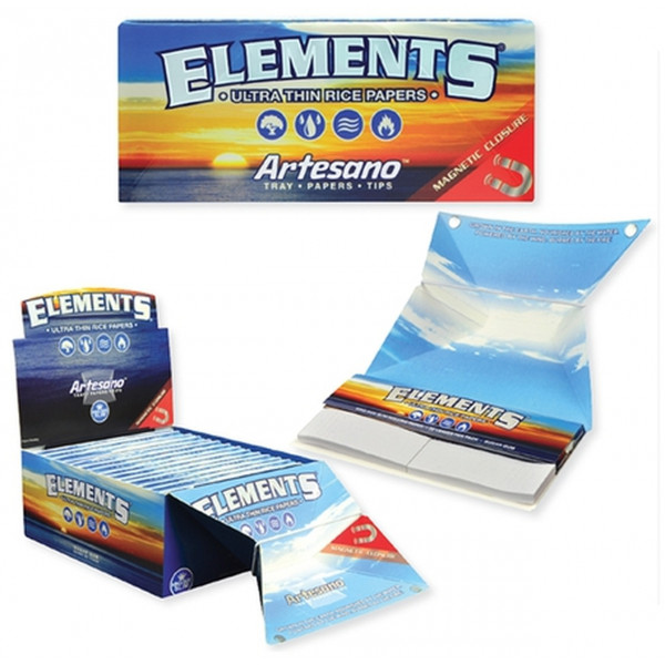 ELEMENTS ARTESANO 1 1/4 PAPERS 15CT