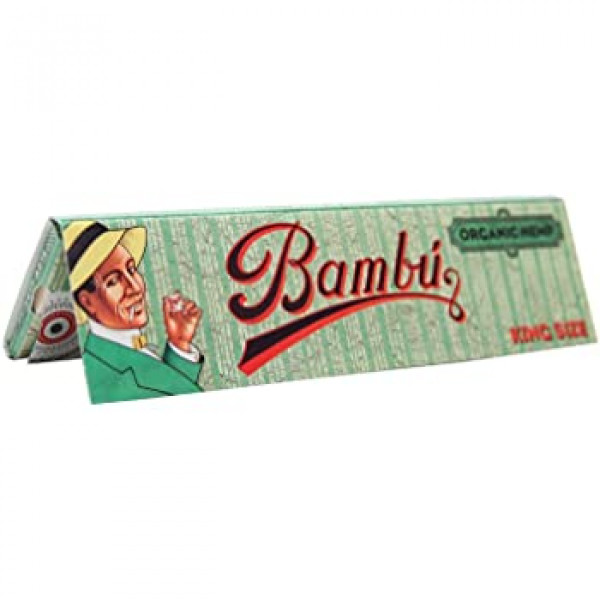 Bambu Organic Hemp King Size Rolling Papers - 50 P...