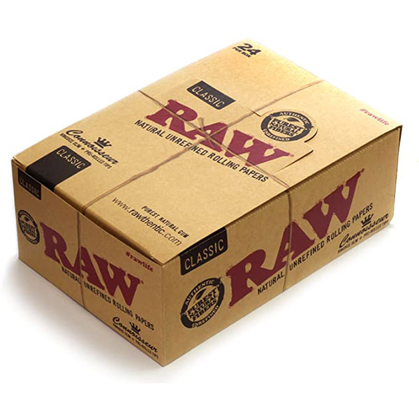 RAW Classic Rolling Papers Connoisseur - King Size...