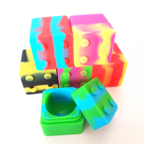 SILCONE LEGO SQUARE CONTAINER 9ml