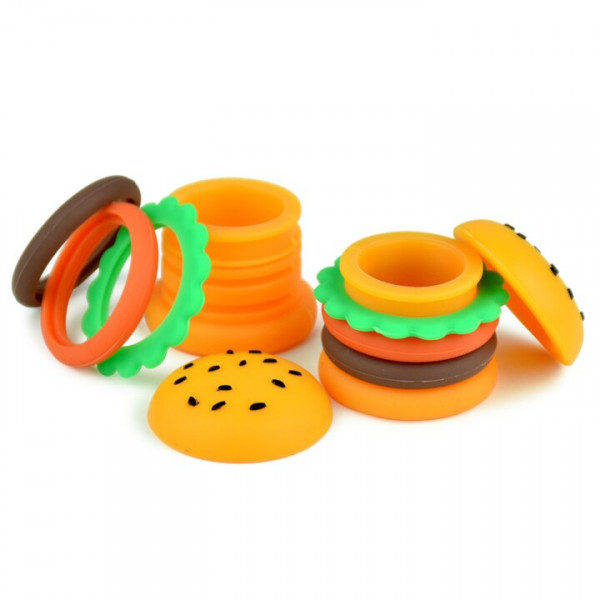SILICONE JAR 5ML HAMBURGER