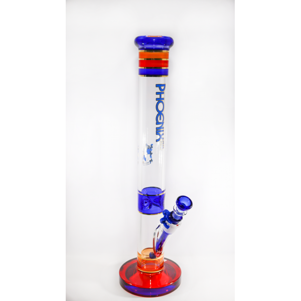 """PHOENIX WATERPIPE 10"""" STRAIGHT PIPE WITH RING..."""