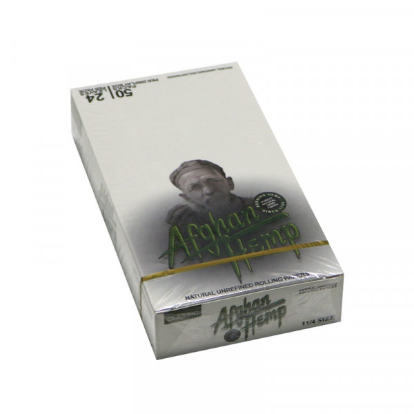 Afghan Hemp Classic Rolling Papers  - 1 1/4