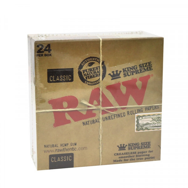 RAW Classic Rolling Papers King Size Supreme