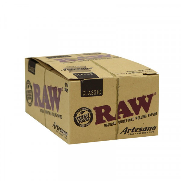 RAW Classic Rolling Papers Artesano - 1 1/4