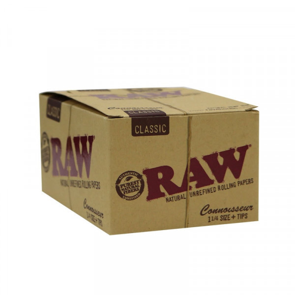 RAW Classic Rolling Papers Connoisseur - 1 1/4