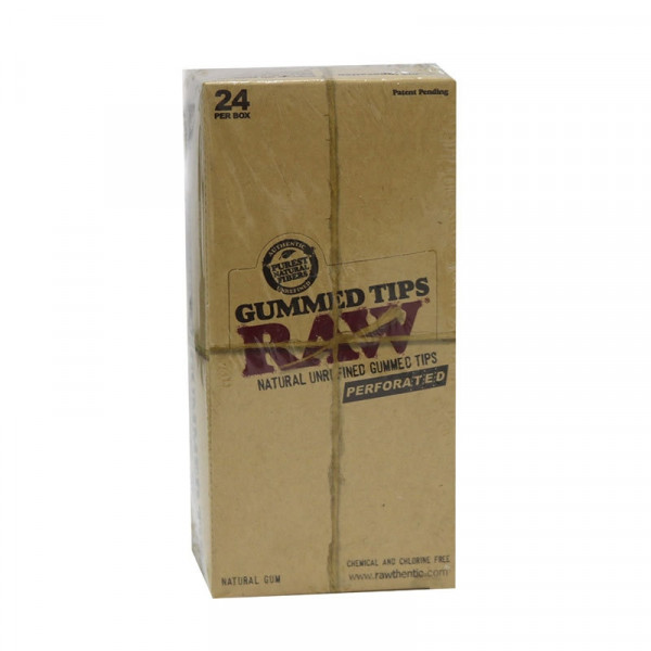 RAW Perforated Gummed Tips
