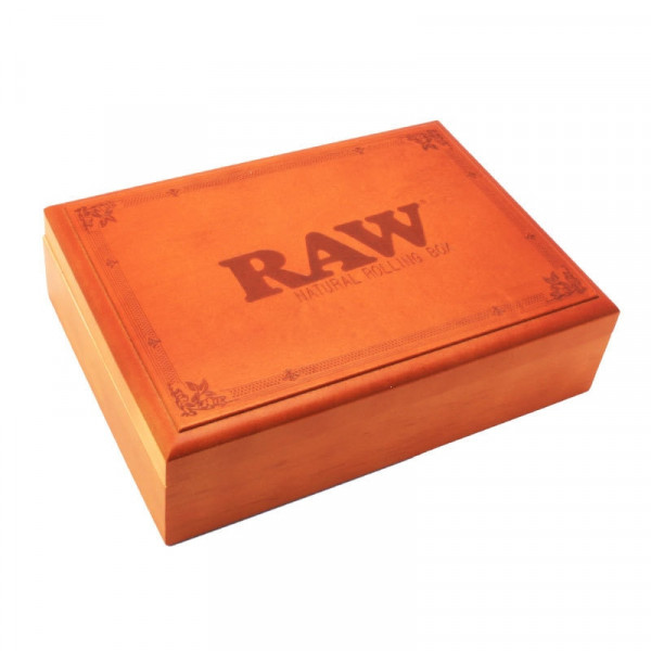 RAW Natural Rolling Box - Wood