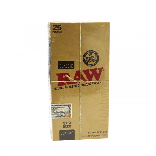 RAW Classic Rolling Papers - 1 1/2