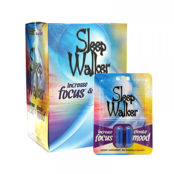 Sleep Walker by Red Dawn - 24 Pack - 2Ct