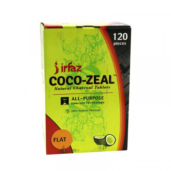 Coco-Zeal Natural Charcoal Tablets - 120 Pack - Fl...