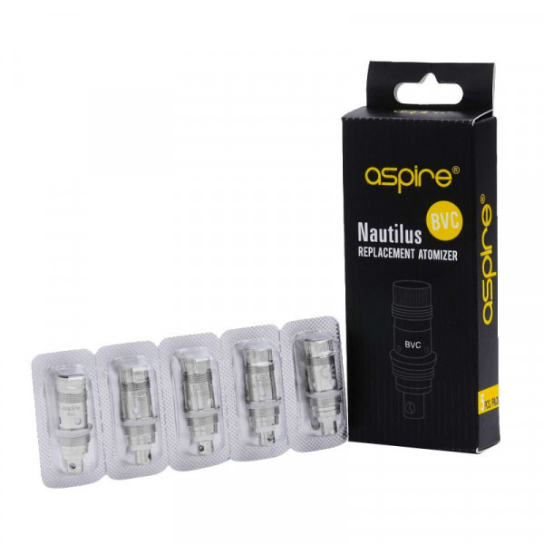Aspire Nautilus BVC Mini - Replacement Coil Heads ...
