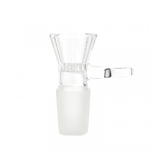 Clear Honeycomb w/ Handle Bowl - 19mm - Male