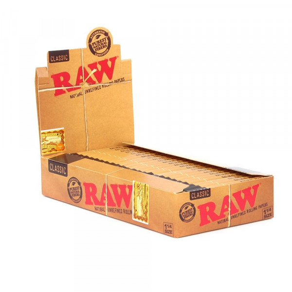 RAW Classic Rolling Papers - 1 1/4