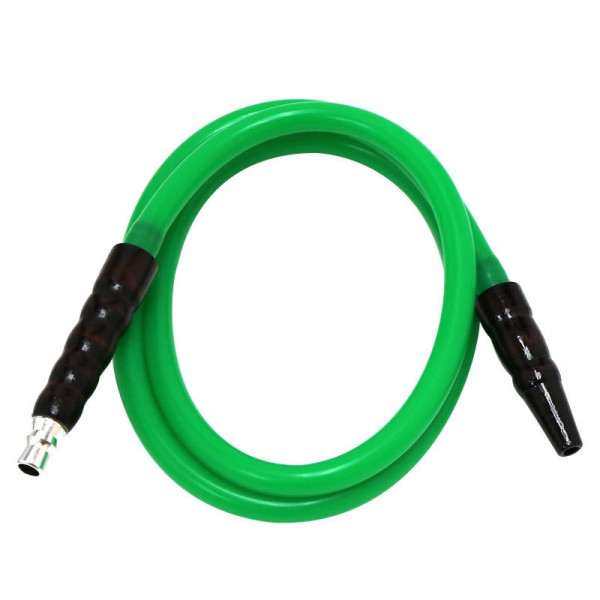 Hookah Silicone Hose Green
