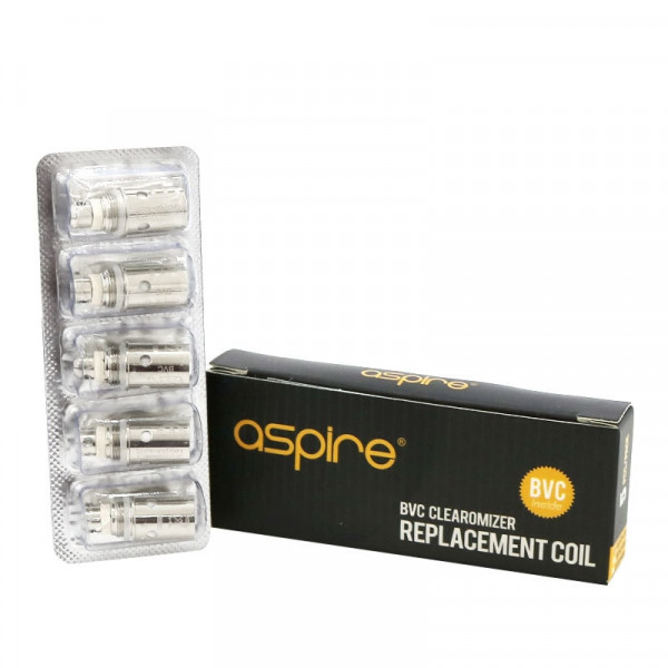 Aspire BVC Replacement Coil Heads (5 Pack)