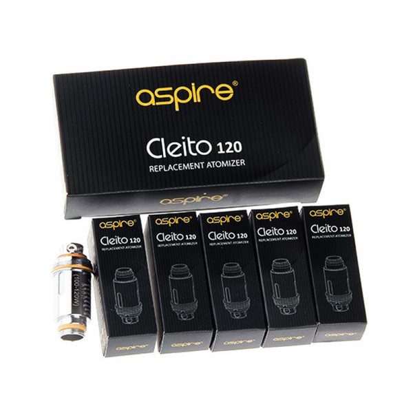 Aspire Cleito 120 Replacement Atomizer (5 Pack)