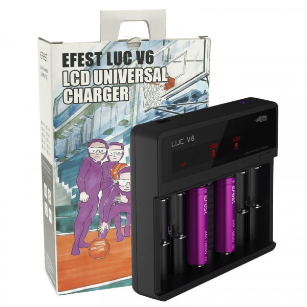 EFest LUC V6 LCD Universal Charger